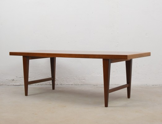 Rectangular rosewood coffee table from Denmark, 1960's