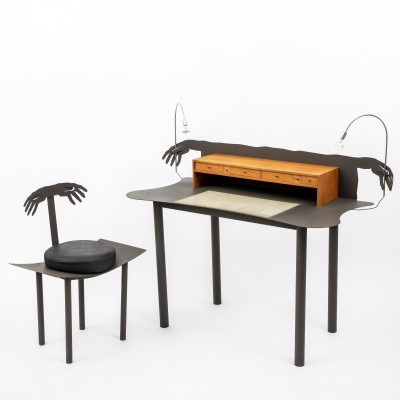 'Entremanos' desk & chair by Andrés Nagel for Akaba