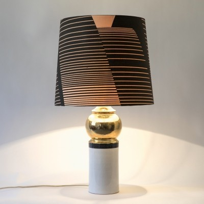 Table lamp by Bitossi for Bergboms, Sweden