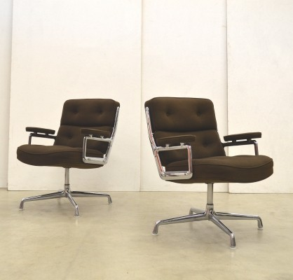 2 x ES108 office chair by Charles & Ray Eames for Herman Miller, 1970s