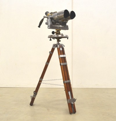 Rare Russian TSK World War II Binocular Telescope