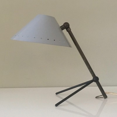 Pinocchio desk lamp by H. Busquet for Hala Zeist, 1950s