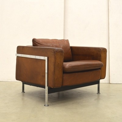 Rare Early RH302 Armchair by Robert Haussmann for Hans Kaufeld