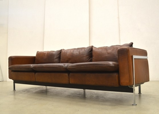Rare Early RH302 3-seater Sofa by Robert Haussmann for Hans Kaufeld