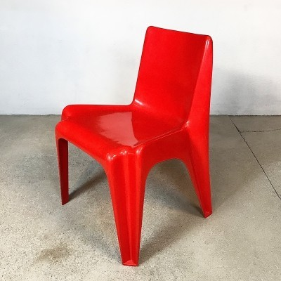 Model BA 1171 Bofinger Chair by Helmut Bätzner, 1960s