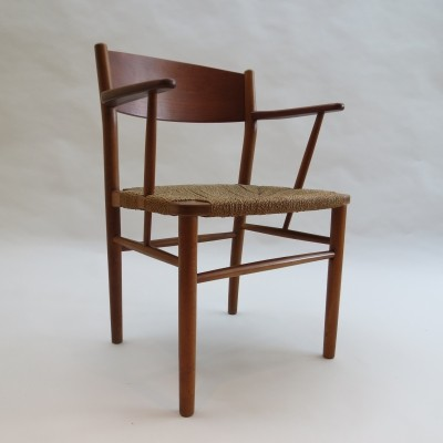 Model No 156 chair by Borge Mogensen, 1950s