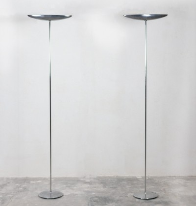 Pair of Olympia floor lamps by Jorge Pensi for B Lux, 1980s