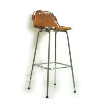 Charlotte Perriand seventies Les Arcs bar stool