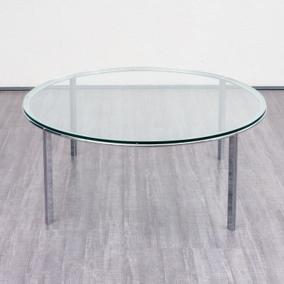1970s glass coffee table by Horst Brüning for Kill International, Germany