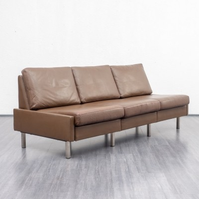 Leather 'Conseta' sofa by COR, 1960s