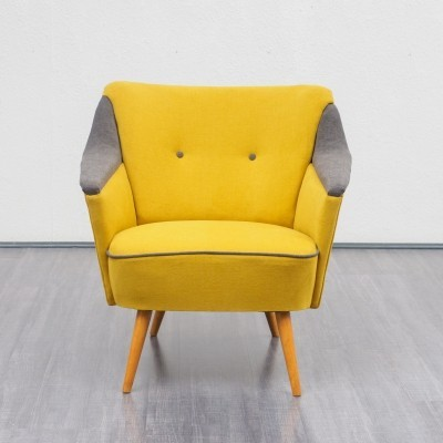Two-coloured 1950s cocktail chair