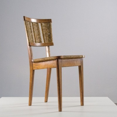 Very rare first 'Goed Wonen' chair from 1947 by Architect Mart Stam