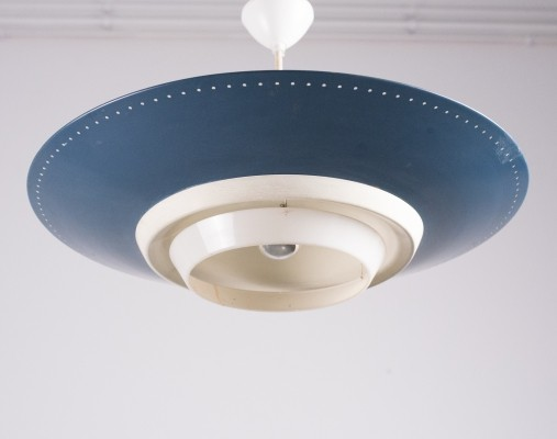 Big 'NT-14' UFO ceiling pendant by Louis Kalff for Philips, 1960s