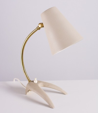 50s 'Crow foot' desk lamp by EWÅ from Sweden