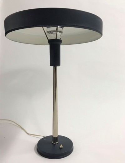 Early production 'Timor' desk lamp by Louis Kalff, 1960s