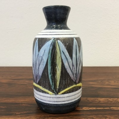 Handmade Swedish Ceramic Vase by Alingsås Ceramic, 1960s