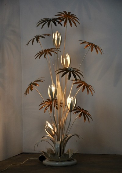 Floral Floor Lamp by Hans Kögl, 1970s