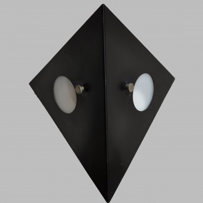3 x Nachtuil / Night Owl wall lamp by Raak Amsterdam, 1970s