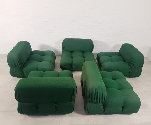 5 piece Camaleonda sofa by Mario Bellini for B&B Italia, 1970