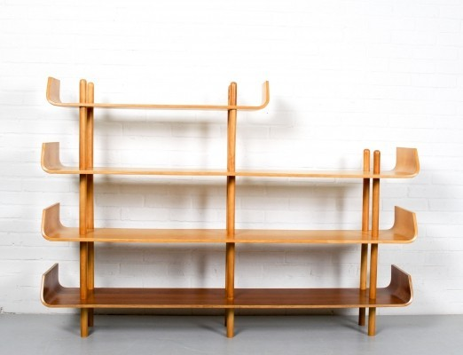 Wall unit by Willem Lutjens for Gouda den Boer, 1950s