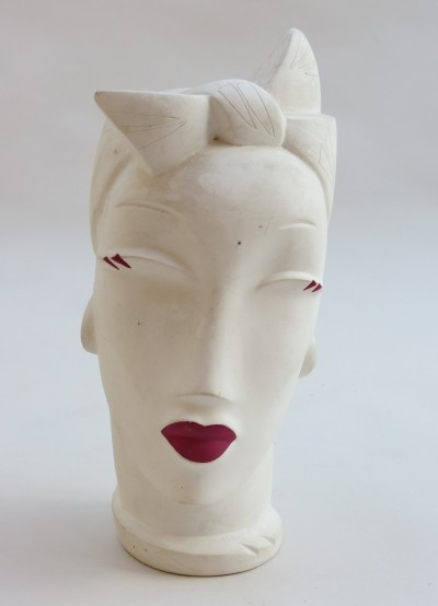 Original Lindsey B Head, titled Rio, signed & dated 1985