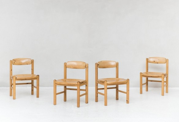 4 dining chairs by Rainer Daumiller