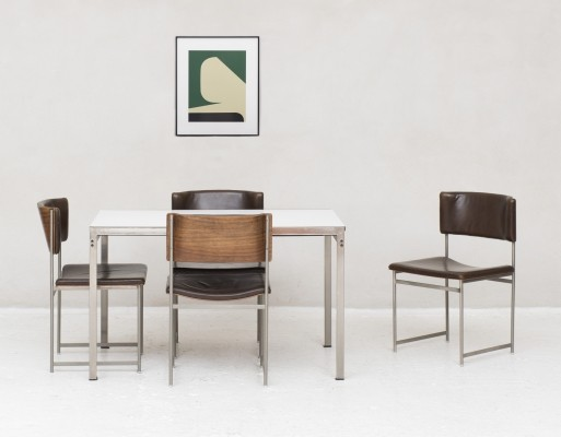 TU30 & SM08 Dining set by Cees Braakman for Pastoe
