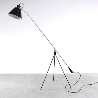 Magneto floor lamp by H. Fillekes for Artiforte, 1960s