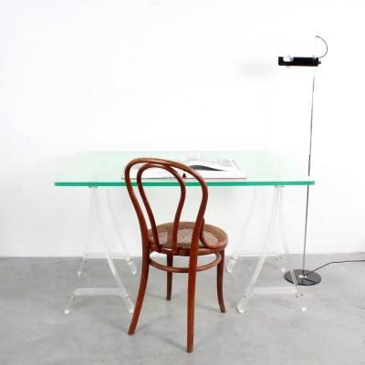 Lucite writing desk, 1970s