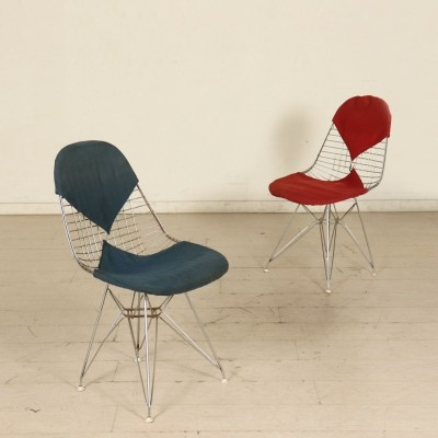 Pair of DKR Bikini Chairs by Charles & Ray Eames, 1960s-1970s