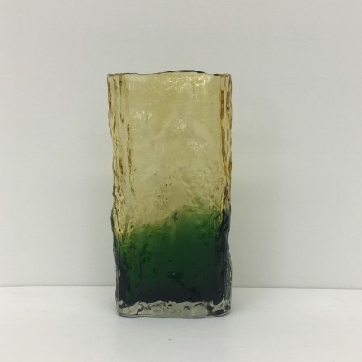 Bark glass vase, 1970's