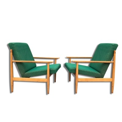 Pair of TON arm chairs, 1970s