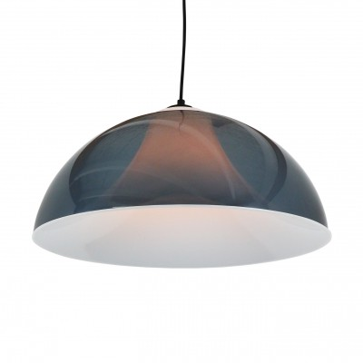 Space age acrylic pendant light by Stilux Milano, 1970s
