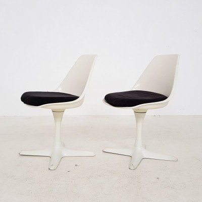 Pair of Model 115 dinner chairs by Maurice Burke for Arkana, 1960s