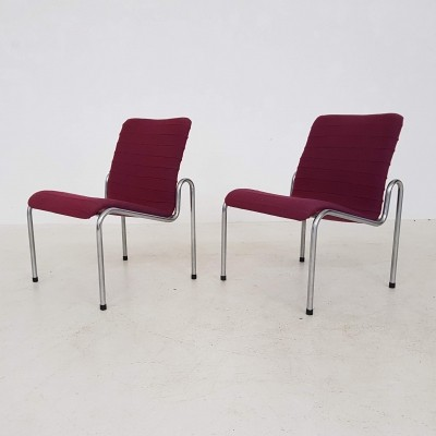 Pair of model 703 lounge chairs by Kho Liang Ie for Stabin Woerden, 1960s
