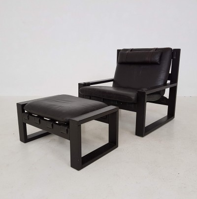 Sonja Wasseur lounge chair, 1970s