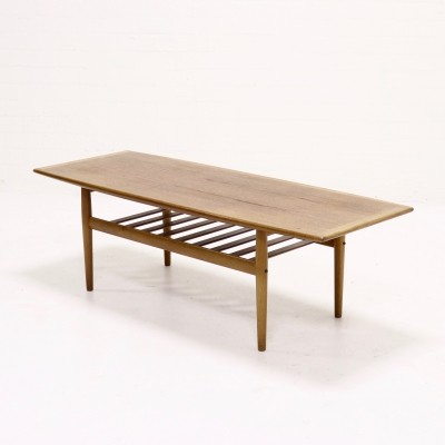 Mid Century Teak Coffee table by Grete Jalk for Glostrup, 1960s