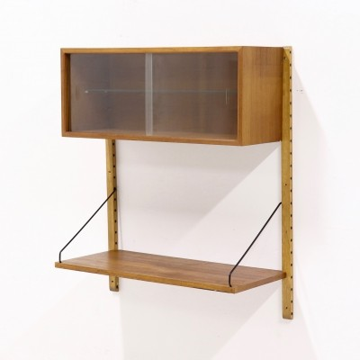 Poul Cadovius Teak Royal System Wall Unit, 1960s