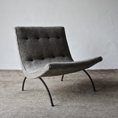 Scoop Chair by Milo Baughman