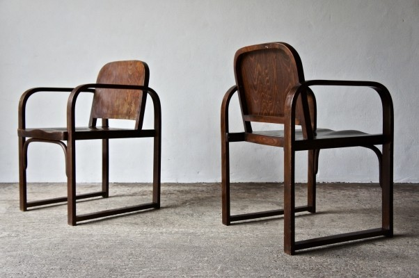 1930's A 745 F Chairs By Tatra Möbel AG