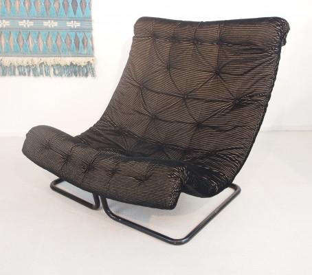 Swedish mid century DUX lounge chair 'Formula' by Ruud Ekstrand & Christer Norman
