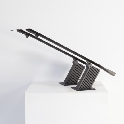 Pair of Hans von Klier 'condor' metal desk lamps for Bilumen