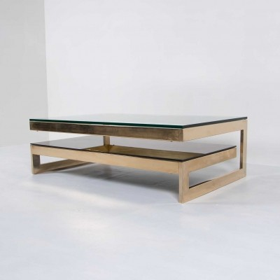 Belgo Chrom coffee table, 1980s