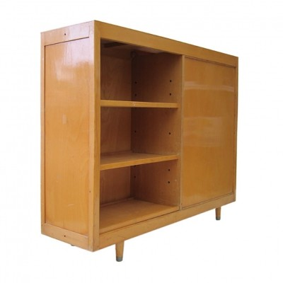 Fifities retro school bookcase with identical sides
