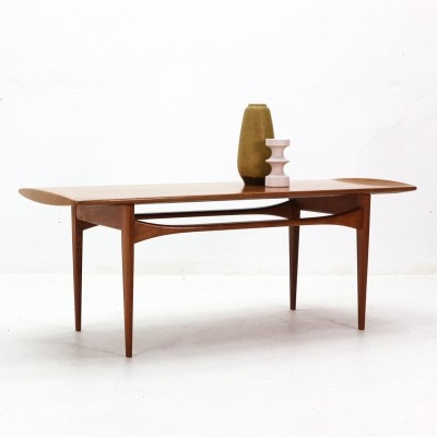 Teak Coffee Table by T. & E. Kindt-Larsen for France & Daverkosen