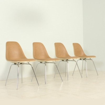 Set of Four DSX Chairs by Charles & Ray Eames