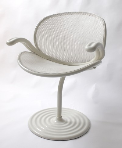 Wilkhahn O-Line Arm Chair by Herbert Ohl, 1982