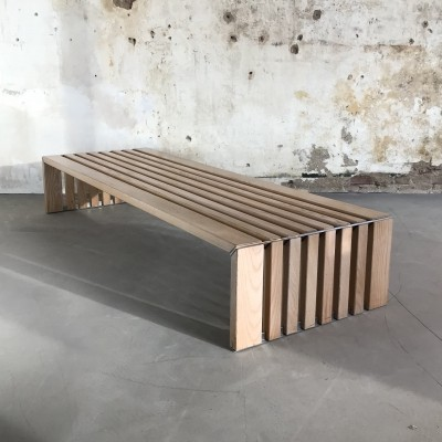 'Passe-Par-Tout' Slat Bench by Walter Antonis for Spectrum 1970s