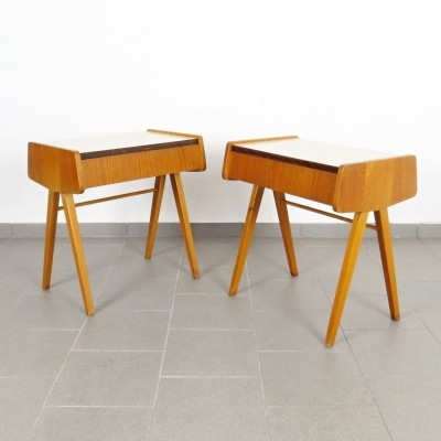Pair of František Jirák side tables, 1960s