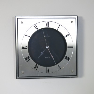 Battery operated wall clock by Junghans, 1970s